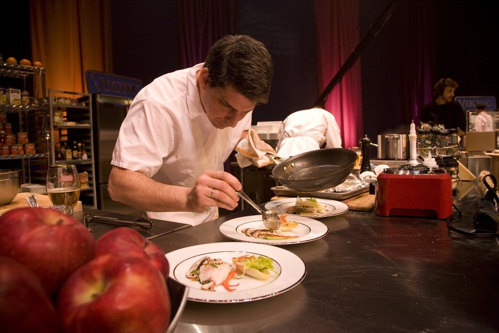 Joey Campanaro, of Little Owl (NYC), the 2009 Master Chef Challenge Champion; credit Beaver Creek Resort.