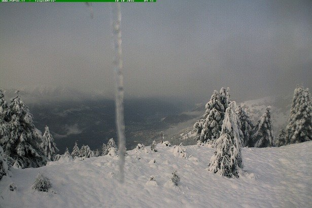 neve fresca 10 Ottobre 2016 - © webcam