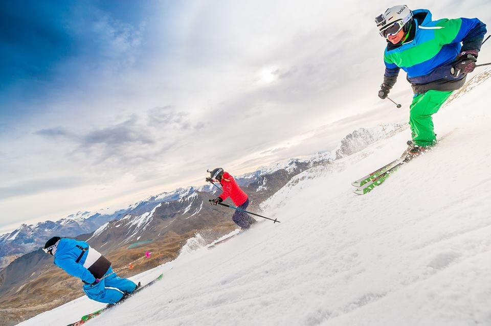 Tignes' ski opening day Oct. 1, 2016 - ©Andy Parant Photographie