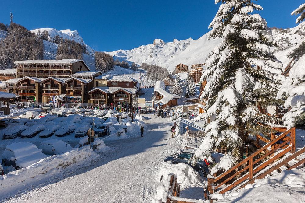 La station de ski de Val d'Allos la Foux - © Office de tourisme du Val d'Allos / R. Palomba