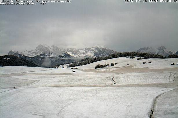 Alpe di Siusi - © Alpe di Siusi webcam