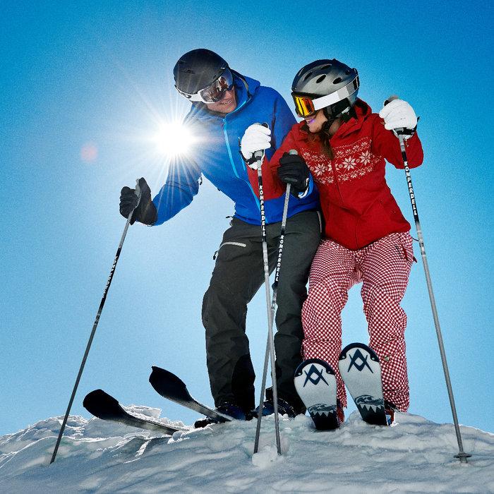 Skifahren bei bester Pistenqualität - © Lenzerheide Marketing und Support AG