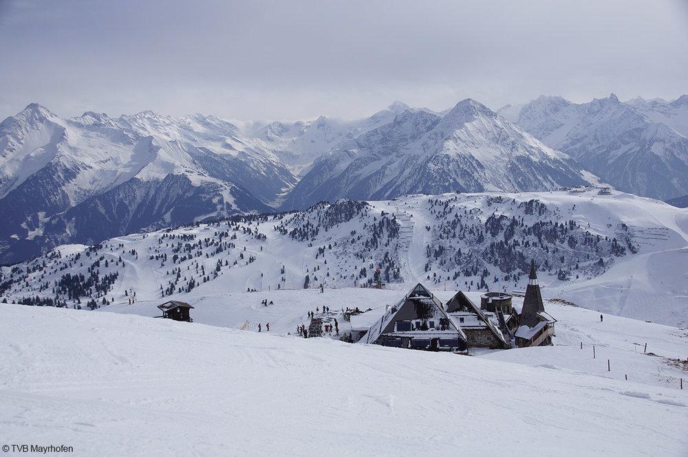 Start zur beliebten roten Piste Nr. 10 in Mayrhofen - © TVB Mayrhofen