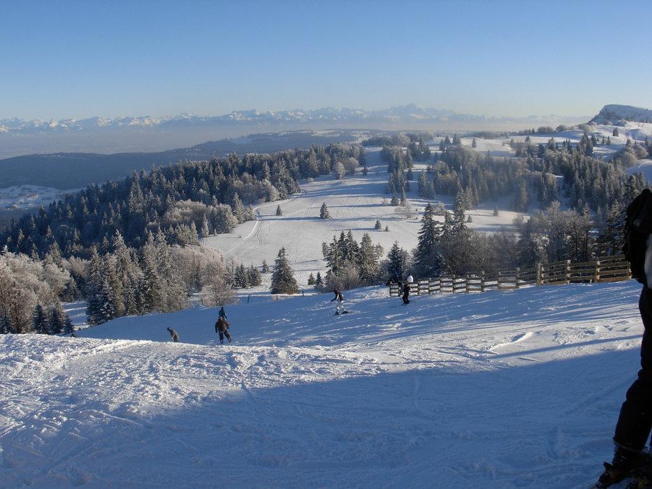 A l'assaut des pistes de ski de Métabief - © Station de Métabief