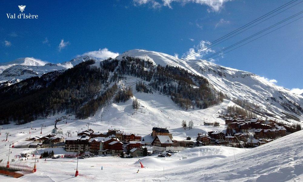 Belle journée de ski en perspective à Val d'Isère - © Office de tourisme de Val d'Isère