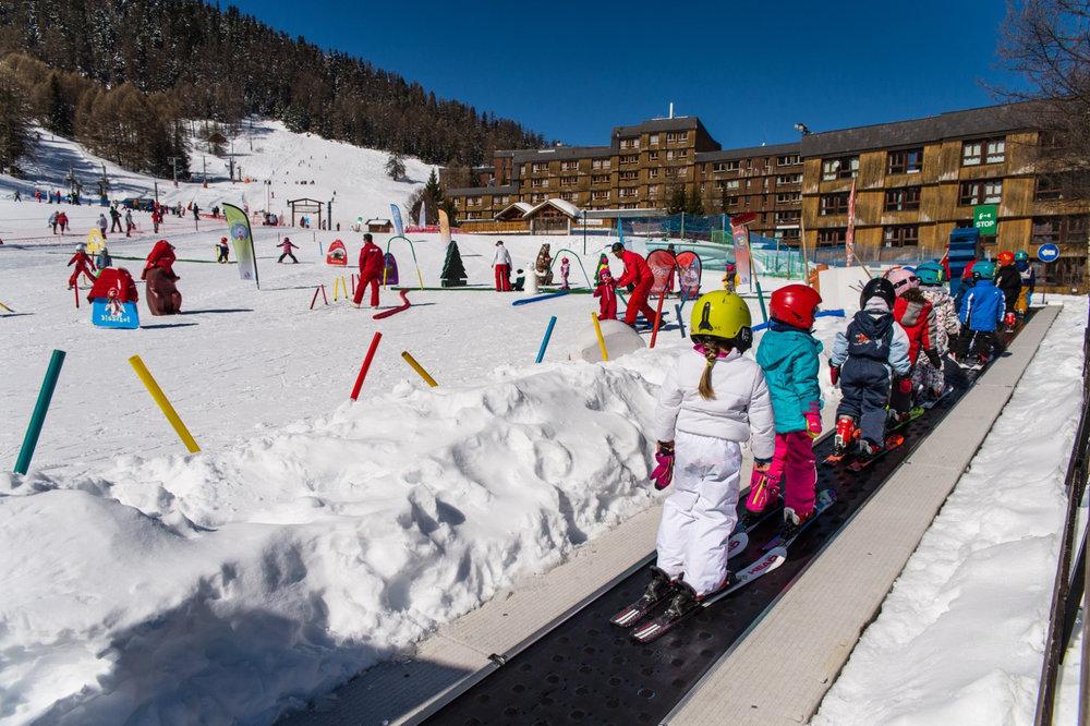 Le jardin des neiges des Karellis - © Office de Tourisme des Karellis