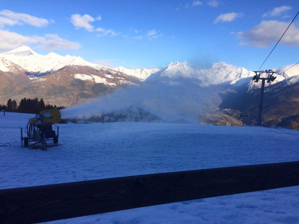Pila 07.11.16 - © Pila Valle d'Aosta Facebook