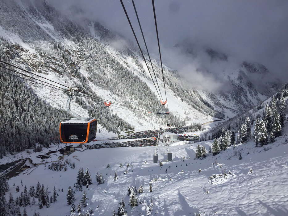 Die neue Talstation der Eisgrat 3S-Bahn  - © Skiinfo