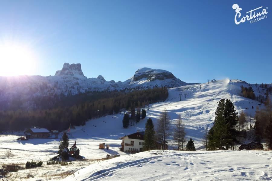 Cortina d'Ampezzo 15.11.16 - © Cortina d'Ampezzo Facebook