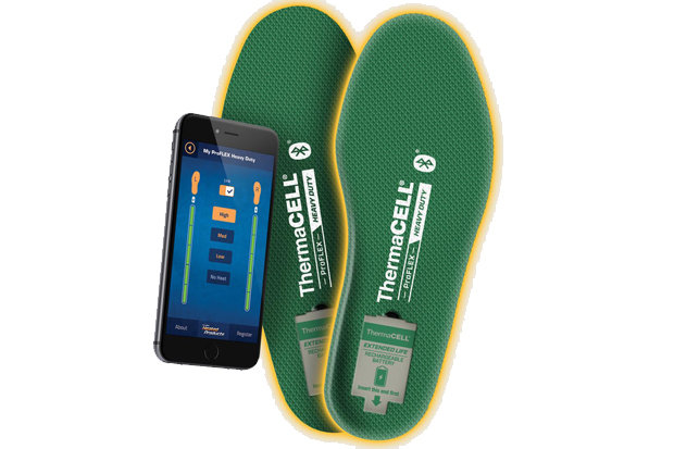 ThermaCELL ProFLEX Heavy Duty Heated Insoles: $199.99 For those always miserable, heat-pack obsessed on your list, you've just made a new best friend. Heat your boots bluetooth style from your cell phone, where you'll be able to dial in low, medium and high heat by way of an app. Best of all, just the battery (not the entire insole) pops out when it's time for a charge.