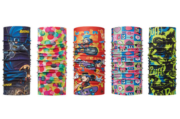 BUFFWEAR Junior BUFF: $15.60 Just like the original buff, but smaller and with kid friendly patterns. Sizes range from junior, child and baby. 79 patterns available.