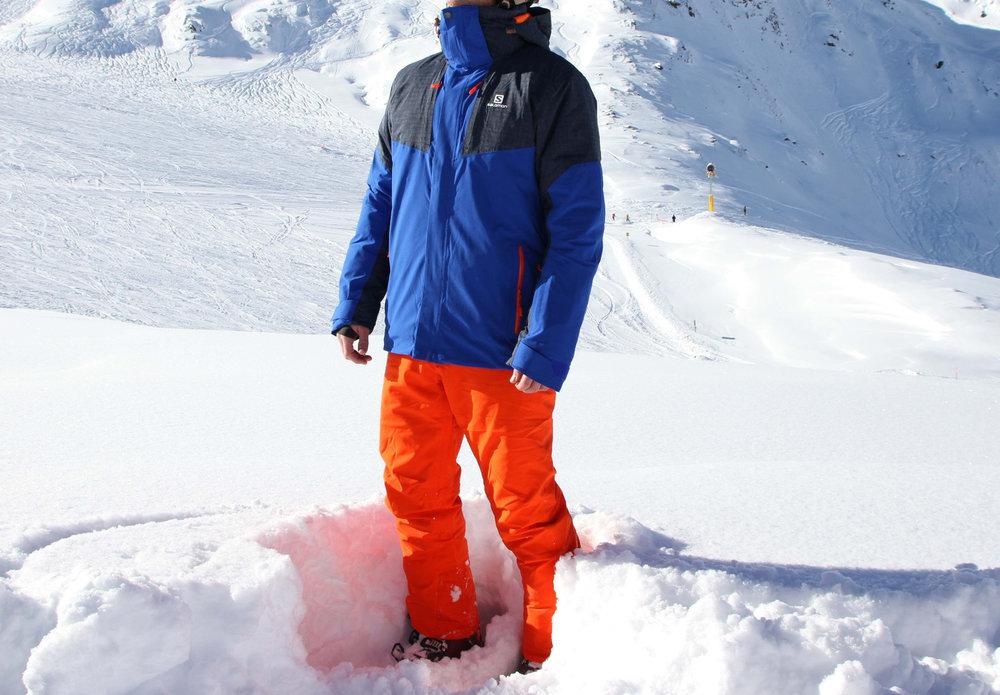 Das Icerocket-Outfit von Salomon im Test - © Skiinfo