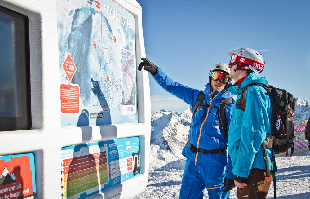 Freeriden Info Base in Sportgastein - © Gastein Tourismus