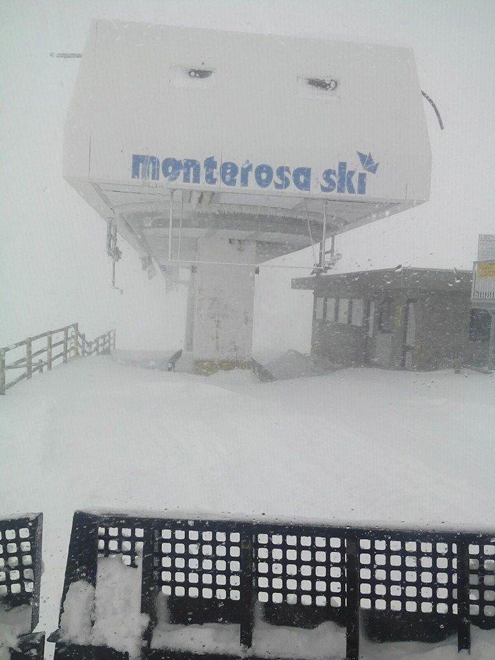Gressoney La Trinité - Monterosa Ski 23.11.16 - © Facebook Monterosa Ski