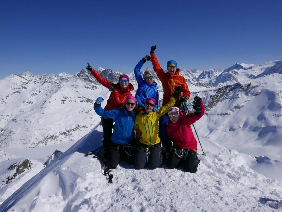 Fantastisk utsikt fra toppen av Rosablanche (3336 moh.) - © Mattias Erlandson