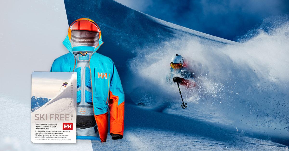 Helly Hansen te lleva a esquiar gratis con el Ski Free Pass - © Helly Hansen