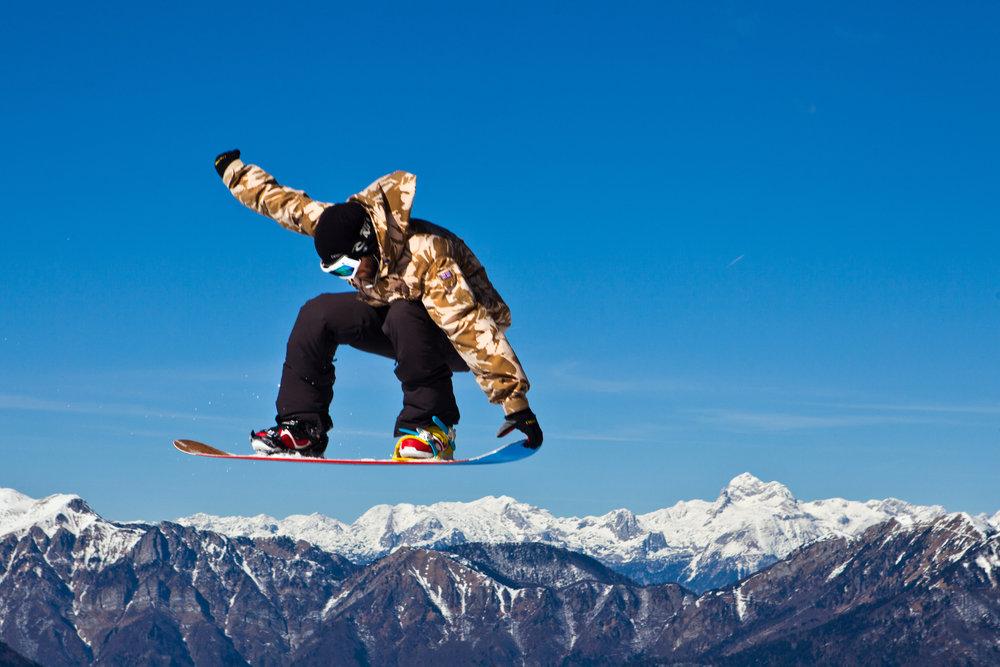 Het grootste snowpark van Zuid-Europa - © Slovenian Tourist Board