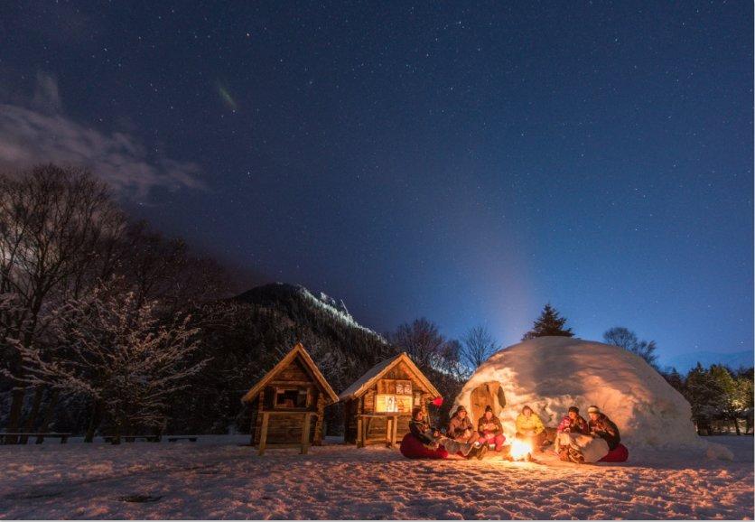 Overnacht in een iglo in Slovenië. - © Slovenian Tourist Board