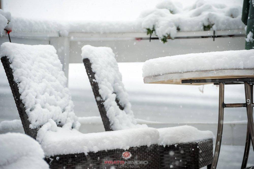 Prato Nevoso, nevicata in corso! 14.10.2016 - © Sergio Bolla - Prato Nevoso Ski Facebook
