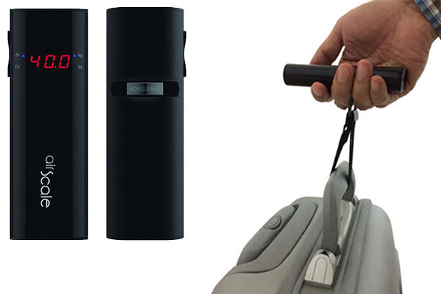Oaxis Airscale: $59 Ski bags get heavy, especially when there's shopping involved. This nifty contraption not only allows travelers to be sure they won't be forking out hefty baggage fees, it will also charge your cell phone in a pinch.