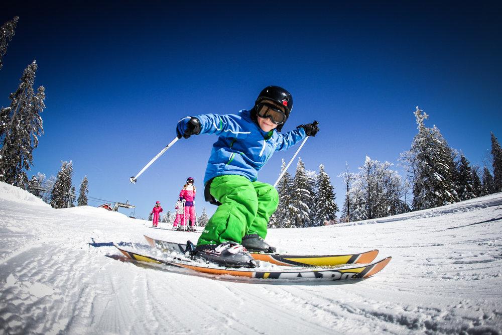 Autrans/Méaudre, un domaine skiable particulièrement apprécié des enfants et des familles - © Nacho Grez