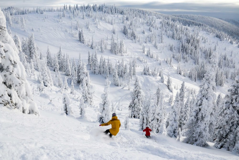 Opening day at Whitefish looking epic! - © Whitefish Mountain Resort