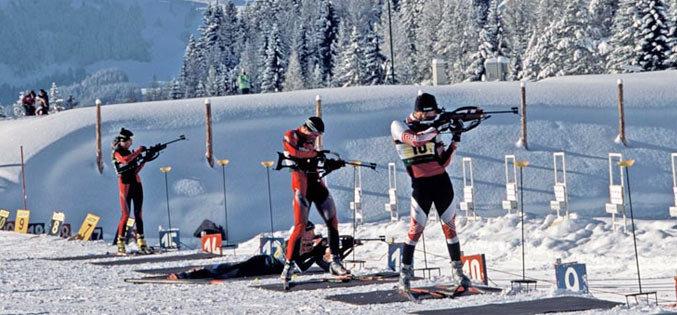Biathlon aux Contamines Montjoie