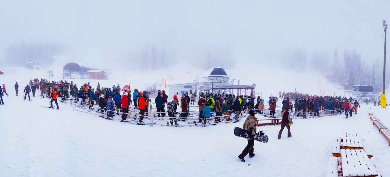 Big White opens with a bang for 16/17 season. - © Big White