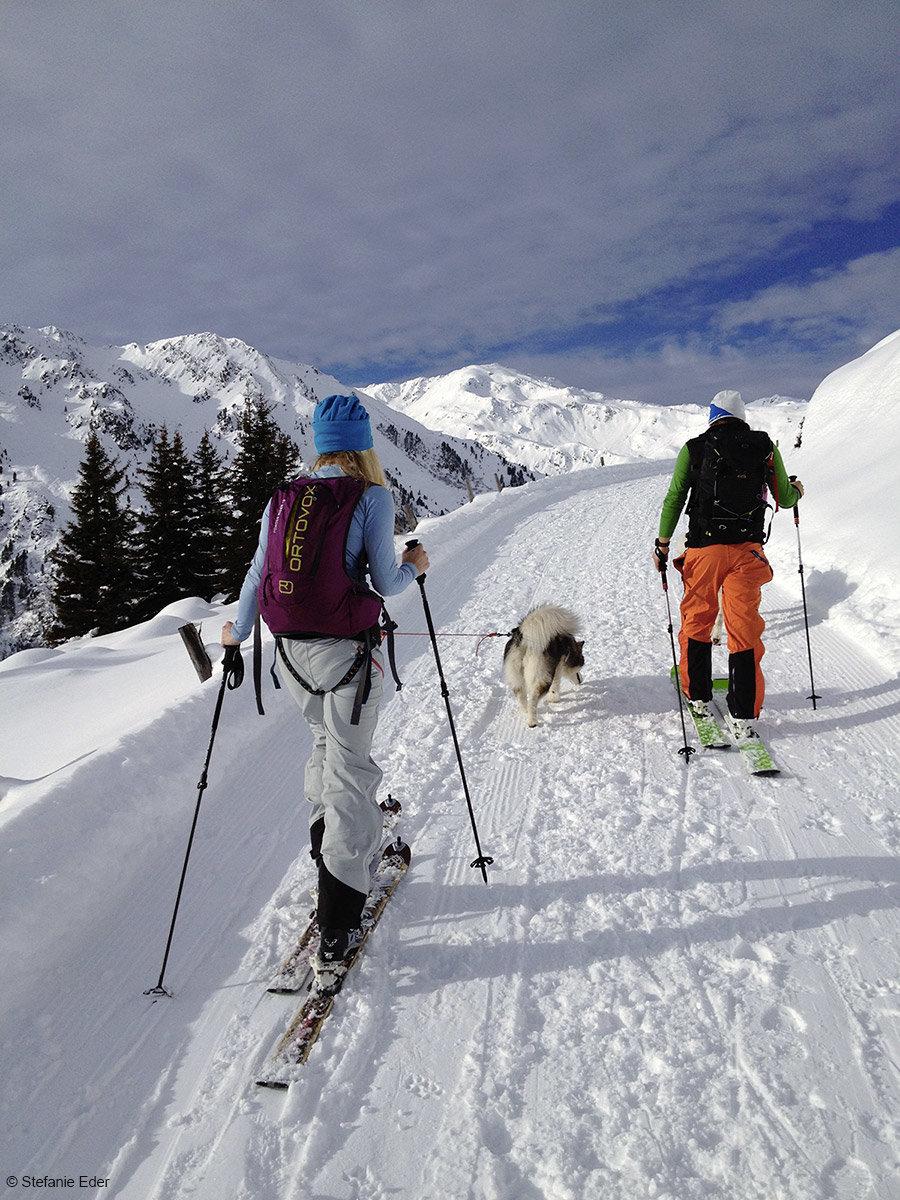 Skitour Rastkogelhütte - © Stefanie Eder