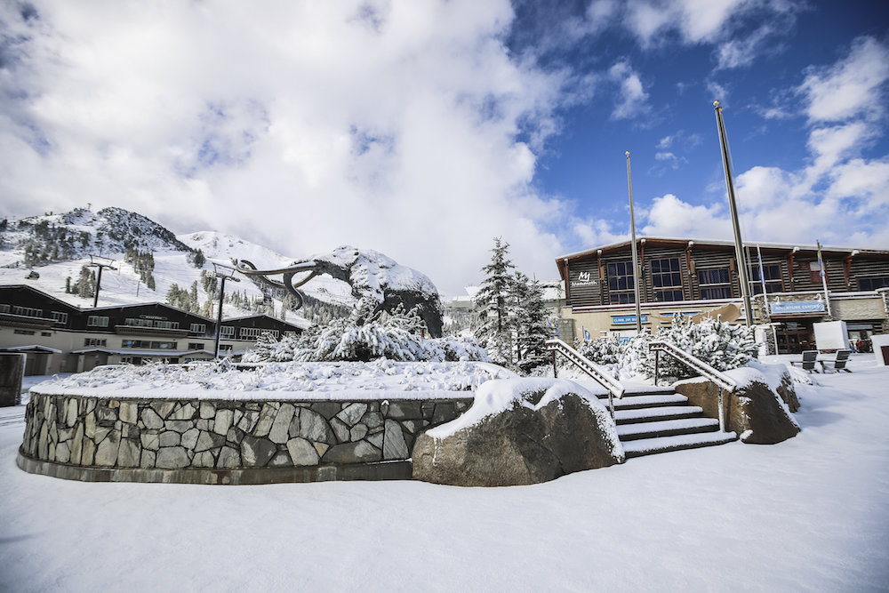 Mammoth Mountain's Canyon Lodge will receive a face lift over the next two years, including a new retail space, snow beach area and food and beverage services.  - © Peter Morning
