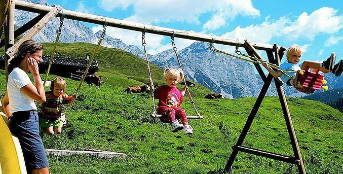 Salzburger Saalachtal_Kinderschauckel