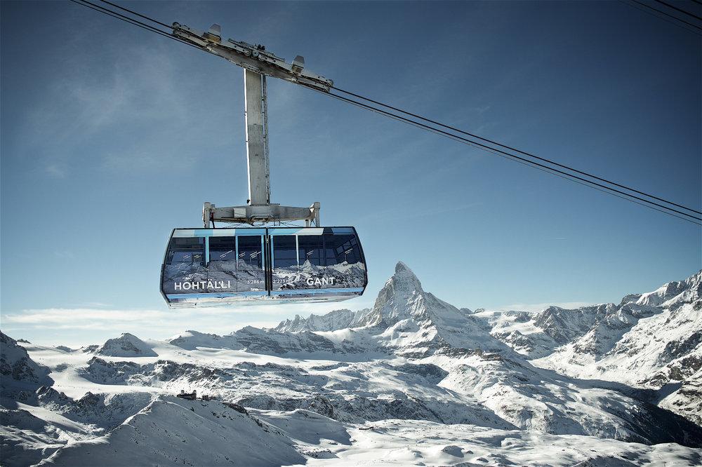 Gondelbahn Hohtäli - Gant - © Zermatt Tourismus
