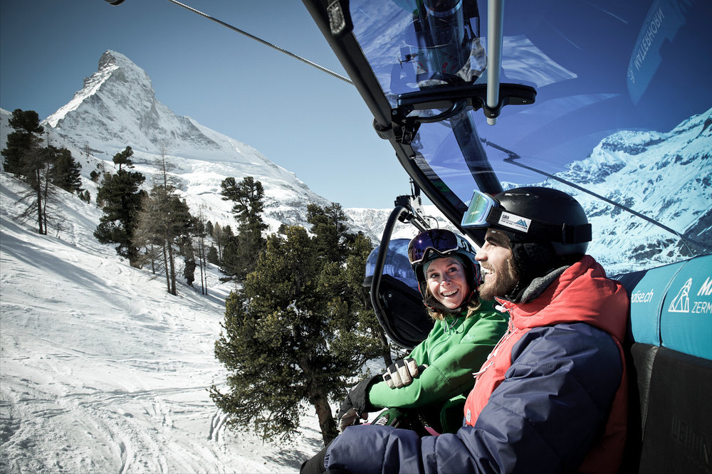 Hirli Sesselift - © Zermatt Tourismus