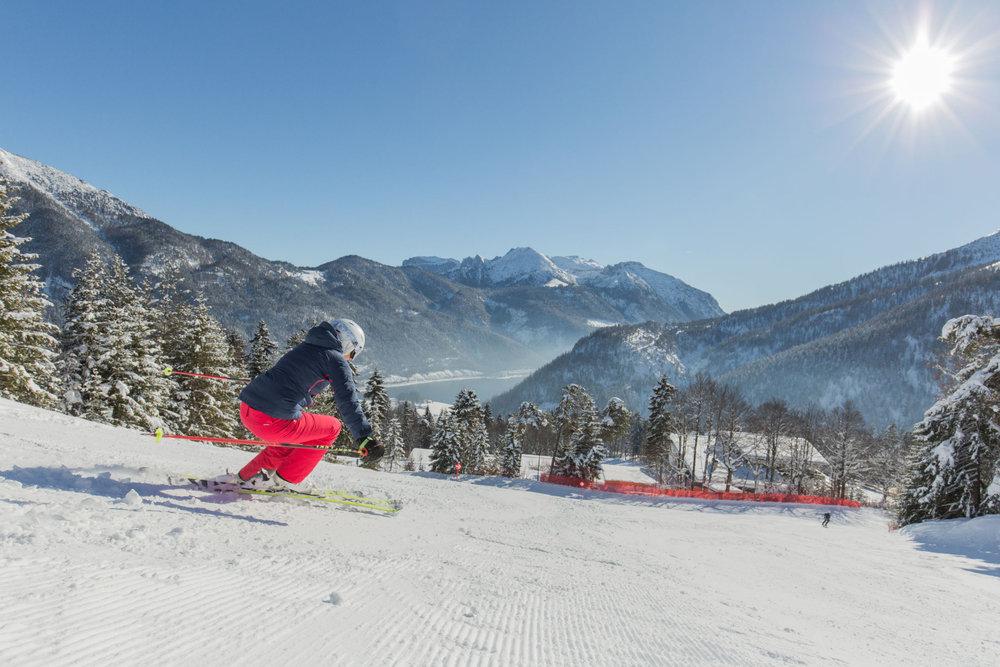 Skifahren in Achenkirch, Hochalmlifte Christlum - © ©Achensee Tourismus