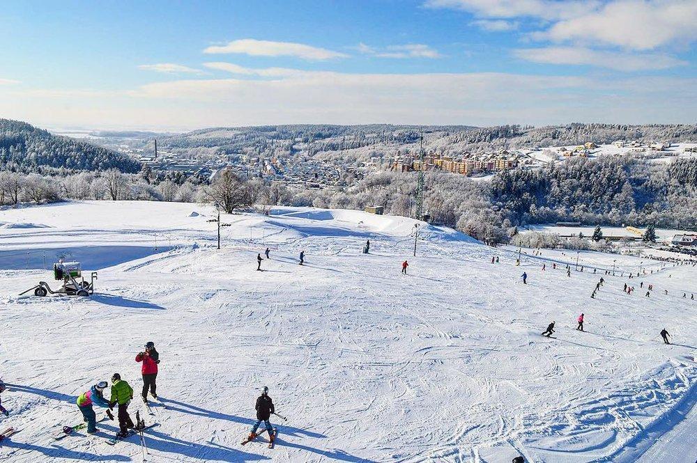 Skiareál Hlubočky 22.1.2019 - © Skiareál Hlubočky 22.1.2019