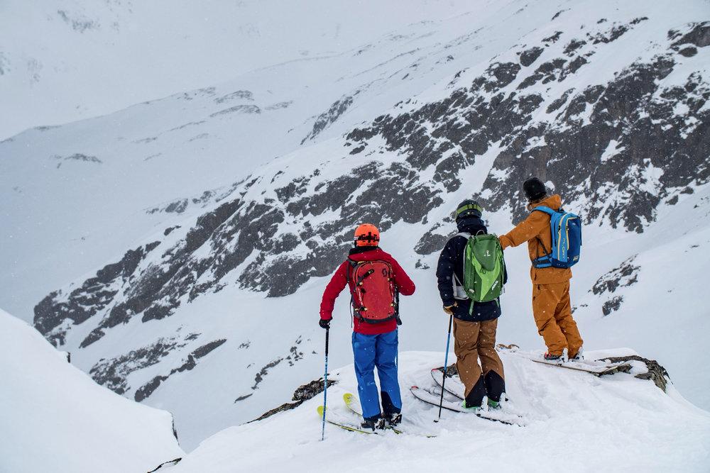 Freeriden in Andermatt - © SkiArena Andermatt Sedrun
