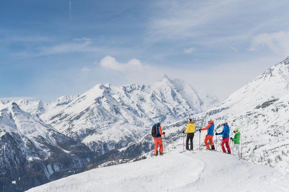 Freerider vor der Kulisse des Großglockners - © Heiligenblut Bergbahnen | wisthaler.com