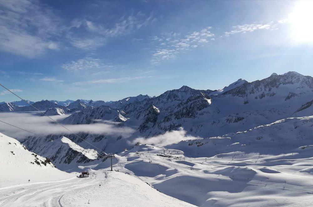 Impressionen vom Stubaier Gletscher im Januar 2019 - © Stubaier Gletscher