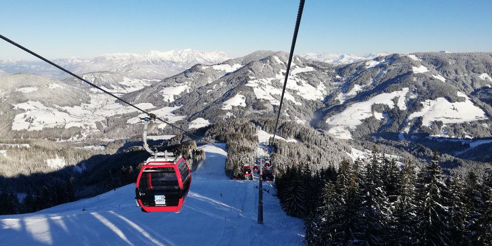 Blick von der Schatzberghütte in Wildschönau - © Wildschönauer Bergbahnen