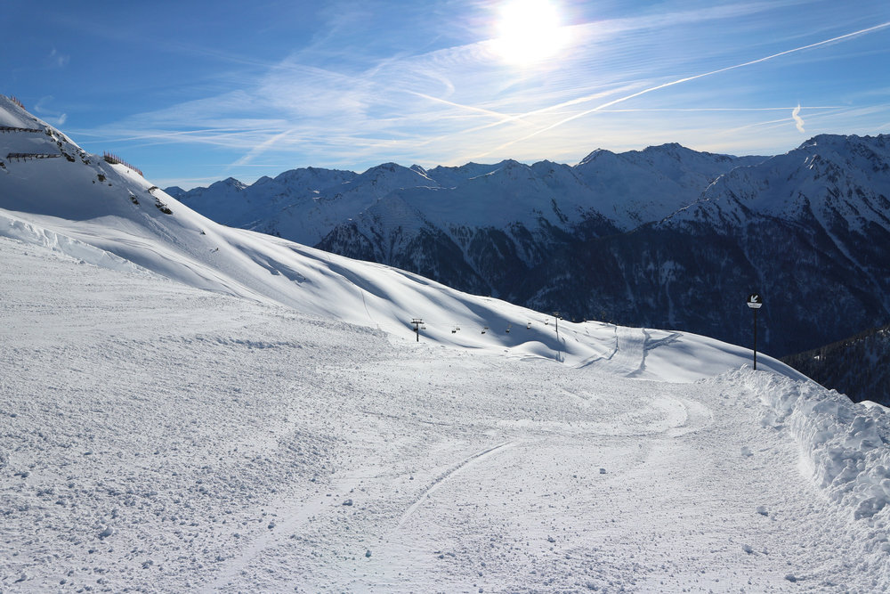 Tolle Wintersportbedingungen in Kappl - ©  Bergbahnen Kappl