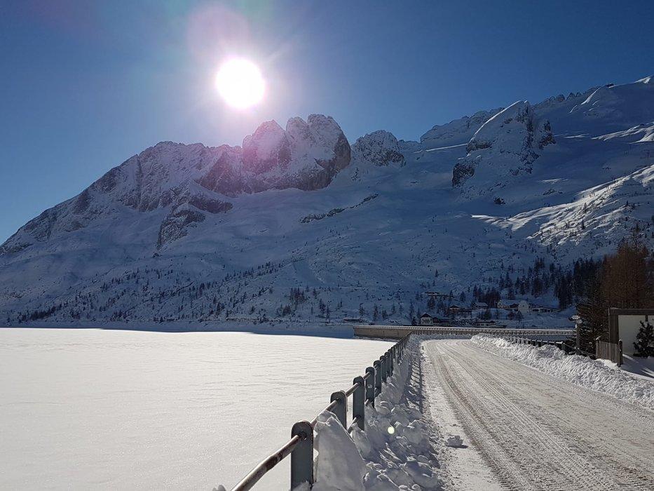 Passo Fedaia 04.02.19 - © Visit Trentino Facebook