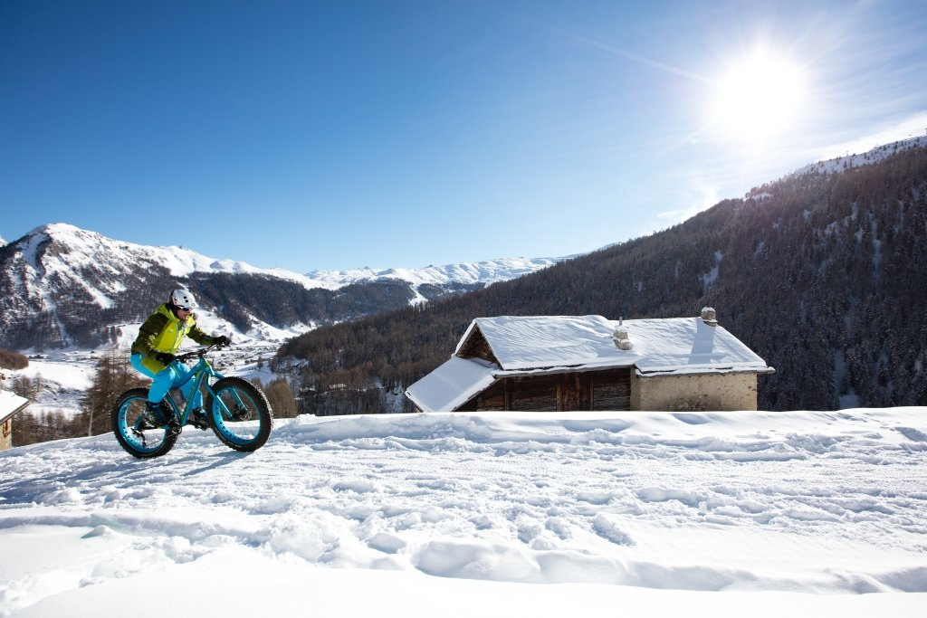 Fat bike w Livigno - © Roby Traub