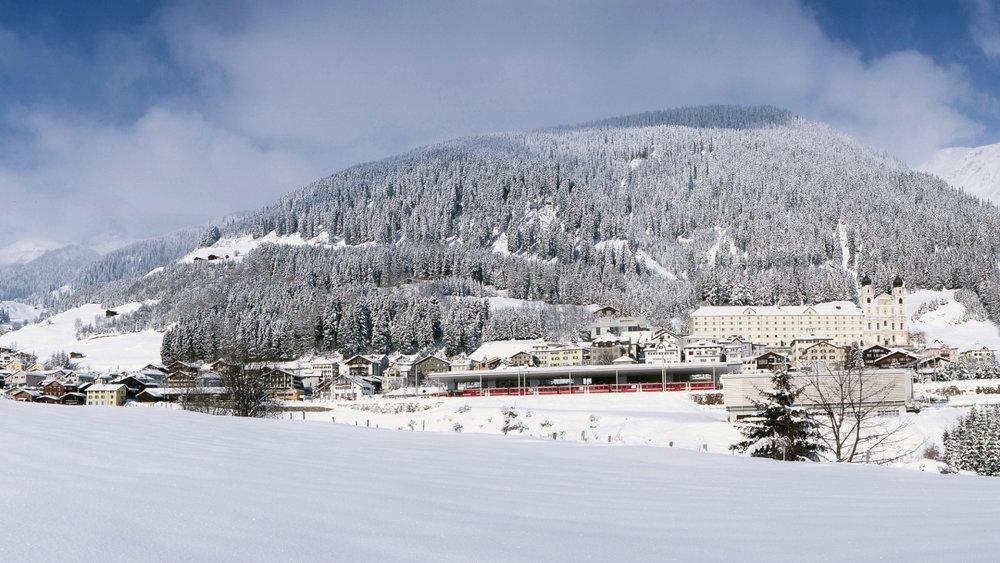 Bergdorf Disentis - © SkiArena Andermatt-Sedrun-Disentis