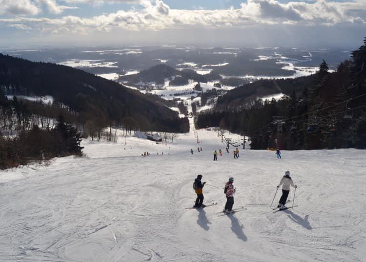 Skiareal Ještěd 12.2.2019 - © facebook | Ještzěd - hory za rohem