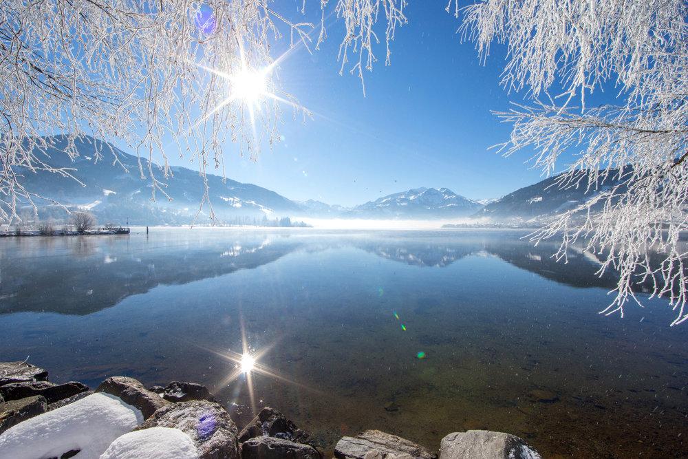 Verschneite Winterlandschaft um den Zeller See - © Zell am See-Kaprun Tourismus / Faistauer Photography