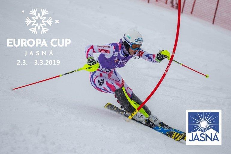 Európsky pohár v zjazdovom lyžovaní v Jasnej za účasti Petry Vlhovej - © TMR, a.s.