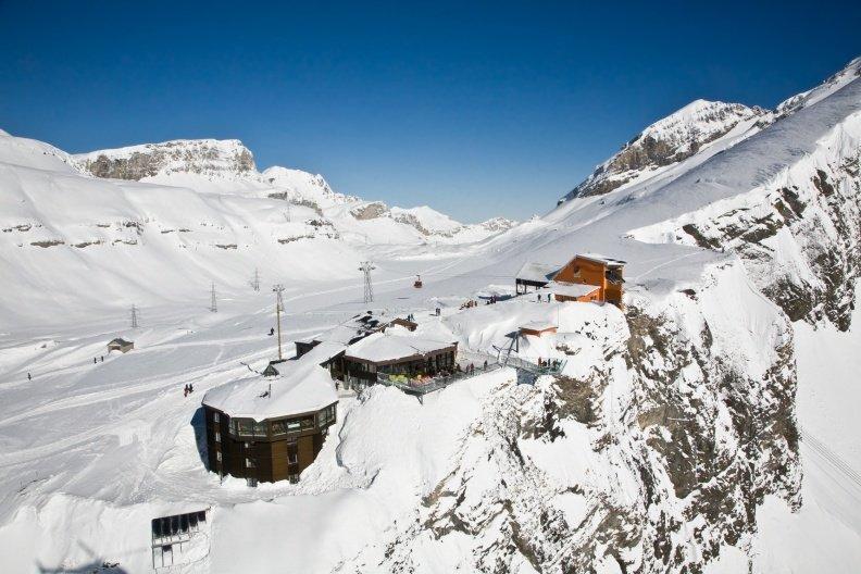 Bergstation der Gemmi-Bahn Leukerbad - © Leukerbad Tourismus