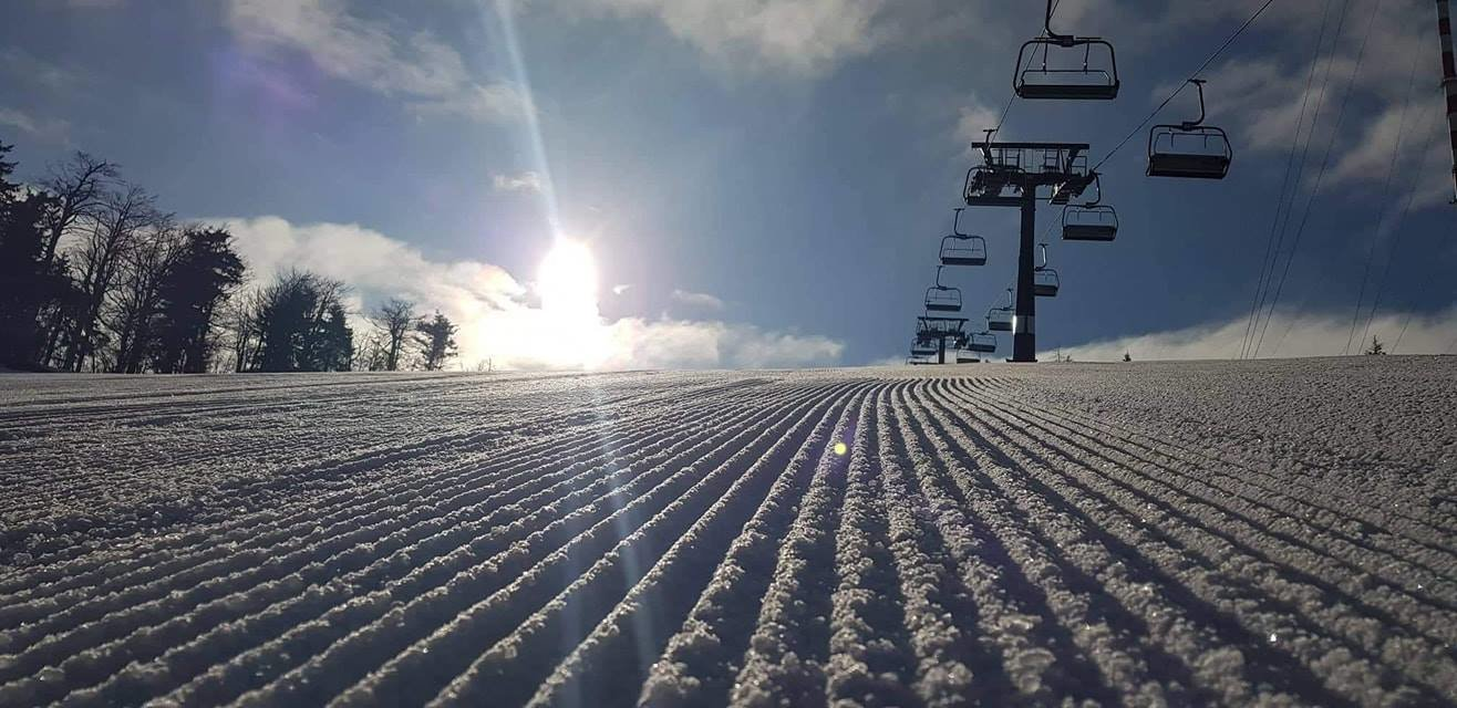 Vynikajúce snehové podmienky na Skalke a veľa slnka (28.3.2019) - © Skalka Arena - facebook