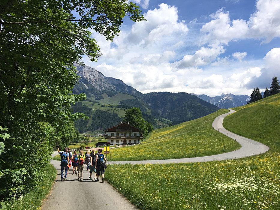 Akční léto v alpském středisku Leogang pro sportovce, rodiny i romantiky - © Puradies Hotel