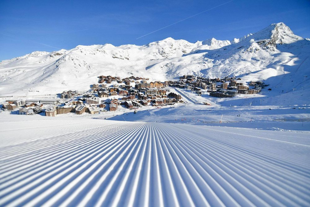 Beautiful bluebird conditions in Val Thorens Jan. 15, 2019 - © Val Thorens/Facebook